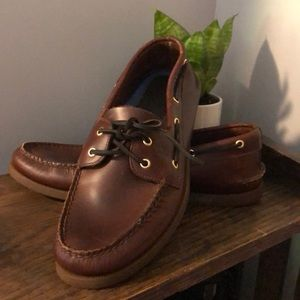 NEW! Leather Sperry Top Sider